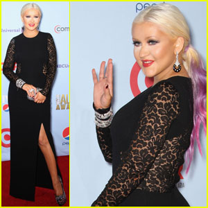 Christina Aguilera: ALMA Awards Arrival
