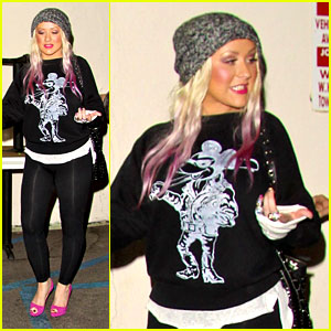 Christina Aguilera & Mattthew Rutler: Craig's Dinner Date!