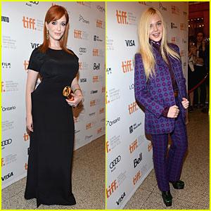 Christina Hendricks & Elle Fanning: 'Ginger & Rosa' Premiere at TIFF!