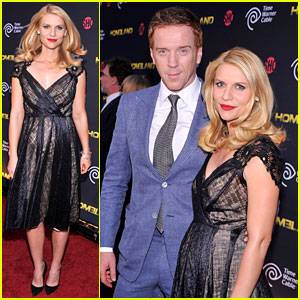 Claire Danes: 'Homeland' Premiere with Damian Lewis!