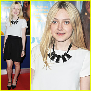 Dakota Fanning: 'Now Is Good' Screening!