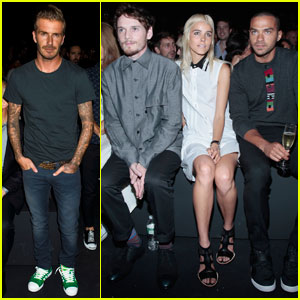 David Beckham: Y-3 10th Anniversary Collection at NYFW