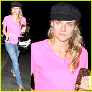 Diane Kruger: Little Dom's Dinner!
