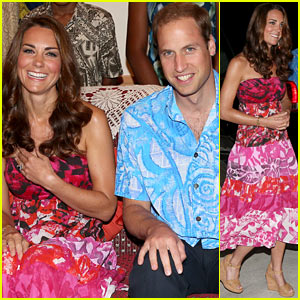 Duchess Kate & Prince William: Governor's Visit in Honiara!