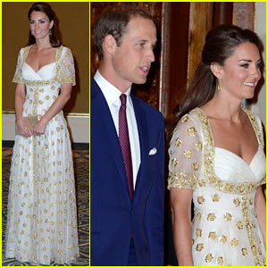 Prince William & Duchess Kate: Malaysia Official Dinner