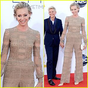 Ellen DeGeneres: Emmys 2012 with Portia de Rossi!