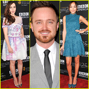 Emilia Clarke & Aaron Paul: BAFTA TV Tea!
