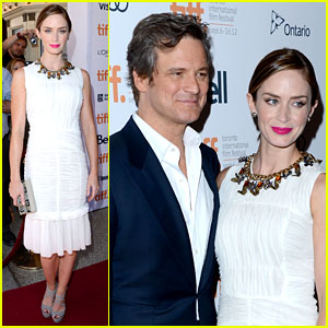 Emily Blunt: 'Arthur Newman' TIFF Premiere with Colin Firth!