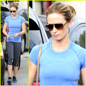 Emily Blunt: West Hollywood Gym Lover