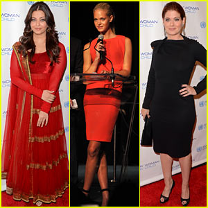 Aishwarya Rai & Erin Heatherton: Every Woman Every Child Dinner