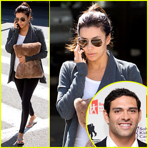 Mark sanchez dating eva longoria
