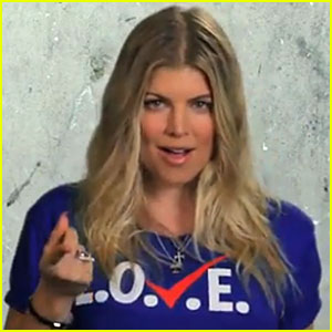Fergie's 'L.O.V.E.' Voting Campaign Music Video - Watch Now!
