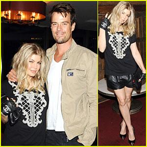 Fergie & Josh Duhamel: Elle's 'All on the Line' Celebration!