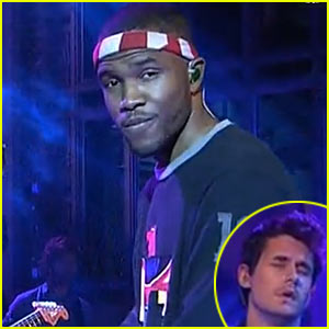Frank Ocean: 'Saturday Night Live' Performance with John Mayer!