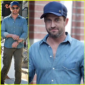 Gerard Butler: Toronto Film Festival Afternoon!