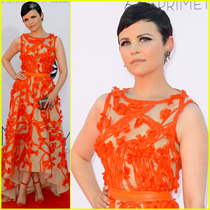 Ginnifer Goodwin - Emmys 2012 Red Carpet