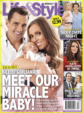 Giuliana Rancic: Baby Boy Edward's First Pic!
