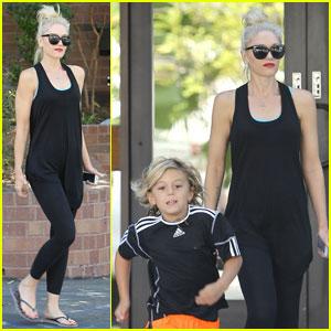 Gwen Stefani & Gavin Rossdale: Errands with Kingston!