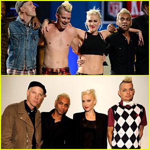 Gwen Stefani & No Doubt Perform at NFL Kick-Off Concert!
