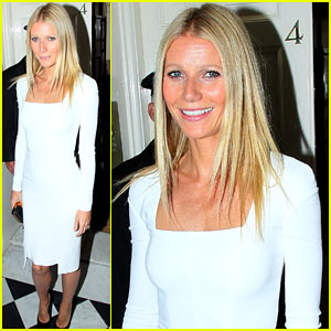 Gwyneth Paltrow Hosts President Obama Election Fundraiser