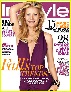 Gwyneth Paltrow Covers 'InStyle' October 2012