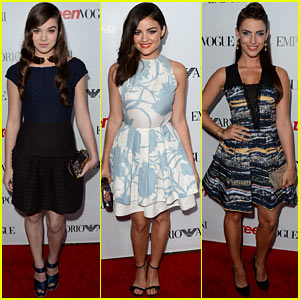 Hailee Steinfeld & Lucy Hale: Teen Vogue's Young Hollywood Party!