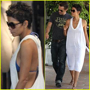 Halle Berry & Olivier Martinez: Malibu Shopping Mates!