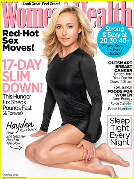 Hayden Panettiere Covers 'Women's Health' October 2012