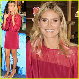 Heidi Klum: 'Truly Scrumptious' Collection Debut!
