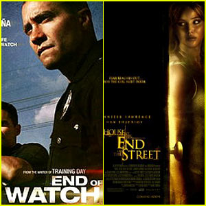 'End of Watch' & 'House at the End of the Street' Tie Weekend Box Office