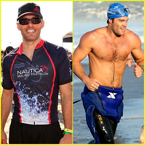 James Marsden & Geoff Stults: Nautica Malibu Triathlon