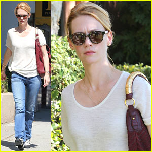 January Jones: Santa Monica Errands