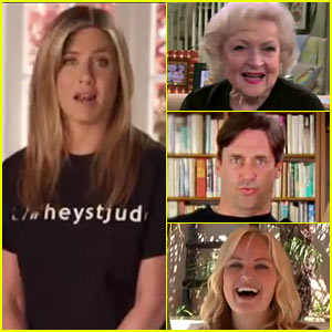 Jennifer Aniston Sings 'Hey Jude' For St. Jude's Hospital