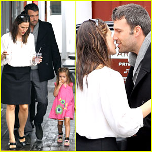 Jennifer Garner & Ben Affleck: Kiss Kiss! | Ben Affleck, Celebrity