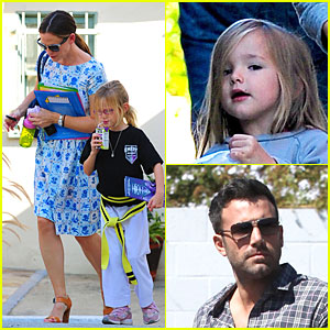 Jennifer Garner: Karate Class with Violet!