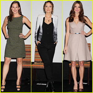 Jennifer Garner & Olivia Wilde: 'Butter' Press Conference!