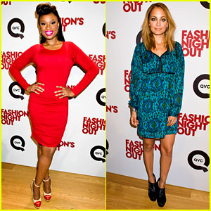 Jennifer Hudson & Nicole Richie: QVC for Fashion's Night Out!
