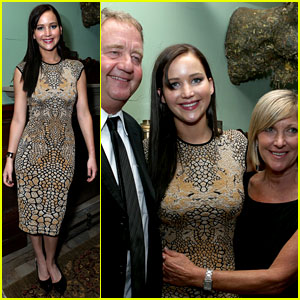 Jennifer Lawrence: 'Silver Linings' After Party with Parents!