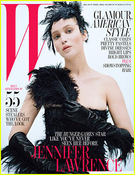 Jennifer Lawrence Covers 'W' Magazine October 2012