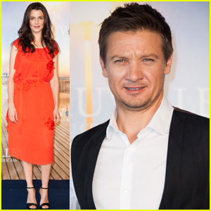 Rachel Weisz: 'Bourne Legacy' France Photo Call with Jeremy Renner!