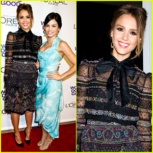 Jessica Alba & Jenna Dewan: Self's Women Doing Good!