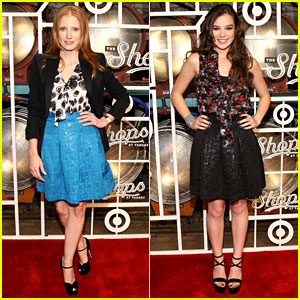Jessica Chastain & Hailee Steinfeld: Shops at Target Party!