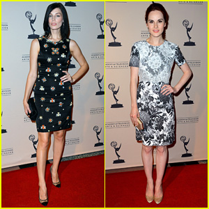 Jessica Pare & Michelle Dockery: ATAS Emmy Awards Reception!