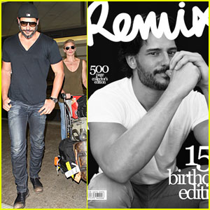 Joe Manganiello Covers 'Remix' Magazine