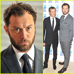 Jude Law: Peace One Day Global Truce Concert!