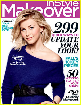 Julianne Hough Covers InStyle Makeover