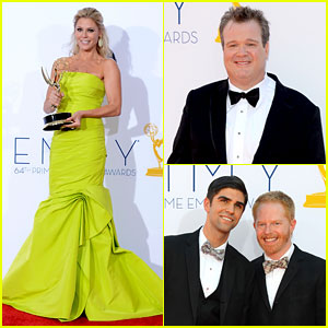 Julie Bowen & Eric Stonestreet Win Emmys for 'Modern Family'!