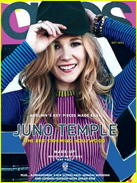 Juno Temple Covers 'Asos' Magazine October 2012