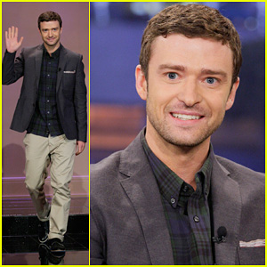 Justin Timberlake: 'Tonight Show with Jay Leno' Appearance!