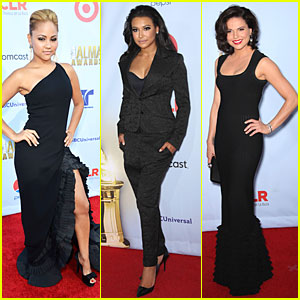 Kat DeLuna & Naya Rivera: ALMA Awards!